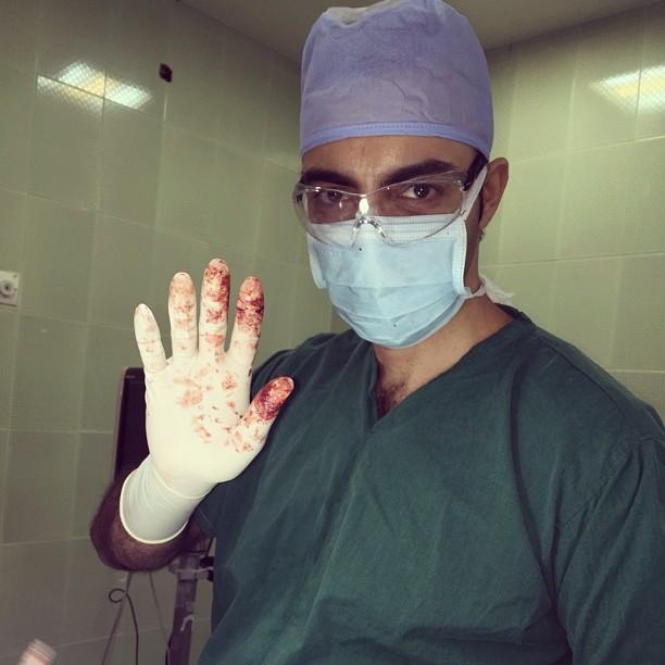 جراح دهان، فک و صورت اصفهان دکتر هادی مشکل گشا