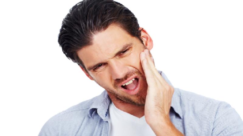 درد فک پایین و علائم